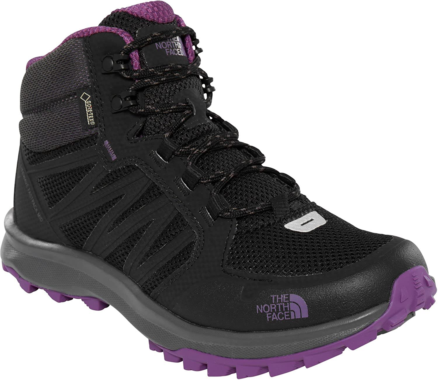 287b27fbf THE NORTH FACE Women's Litewave Fastpack Mid Gore-tex High Rise Hiking Boots