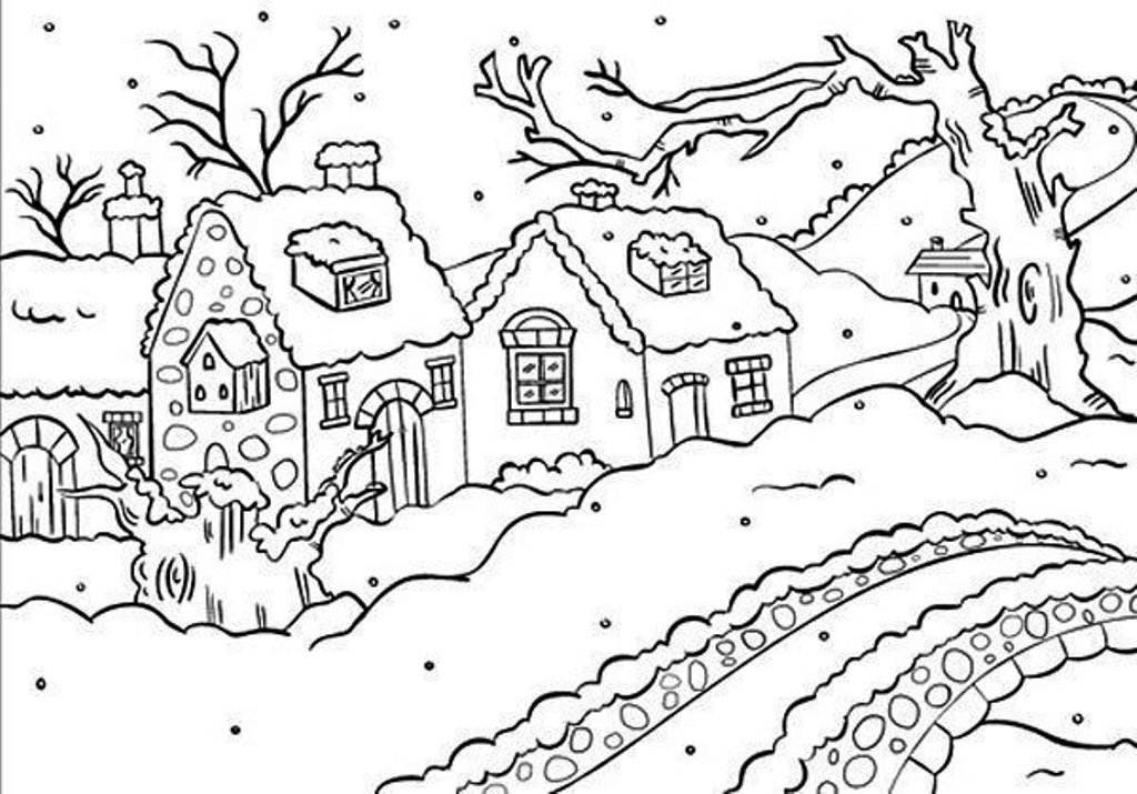 Ecstasy Crafts Nellie's Choice Picture Embossing Folder, 4 by 6-Inch, Snowy Cottages by Ecstasy Crafts