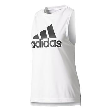 f887292bf72b1 adidas Women s Boxy Shirt Logo Tank Top