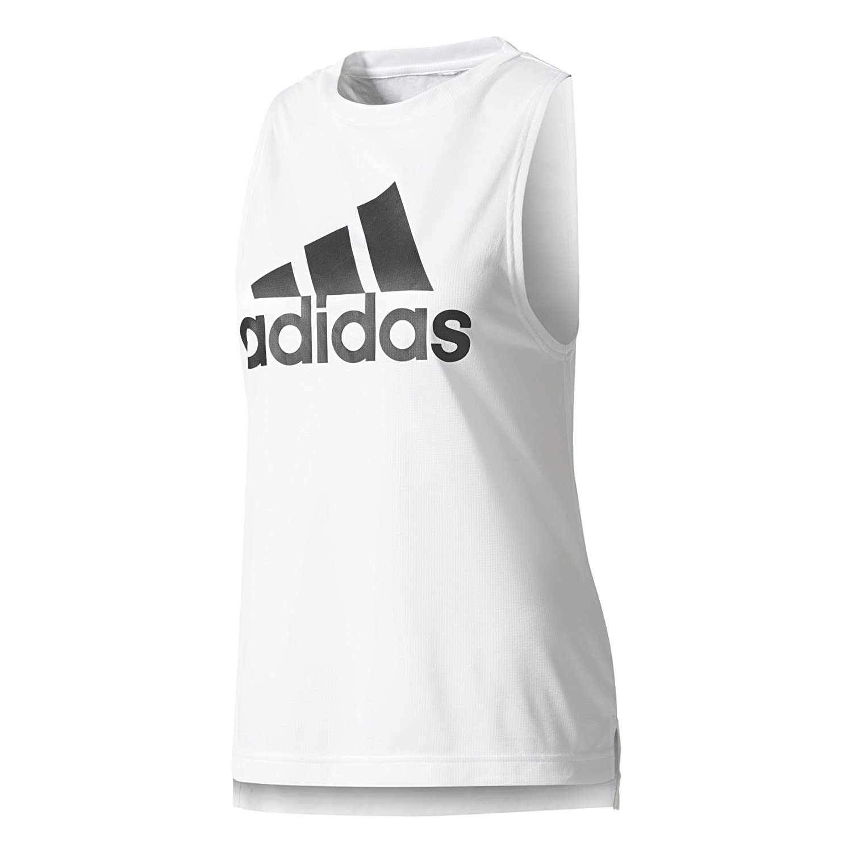 TALLA L. adidas Boxy Logo Camiseta Tirantes