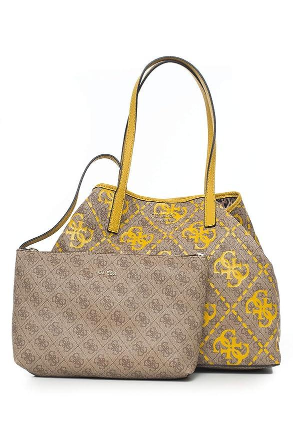 BORSE GUESS DONNA Shopper Vikky Stampa Logo A Spalla