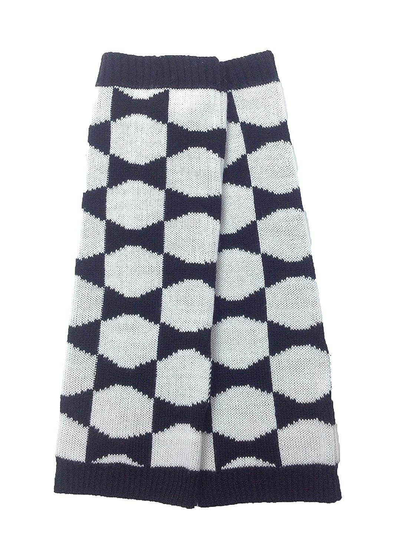 Kate Spade Women's Signature Bow Knit Arm Warmers, Black / Cream KS1000261