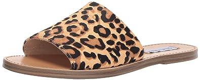 84c16fb054b Steve Madden Women s Grace Slide Sandal Leopard 6.5 ...