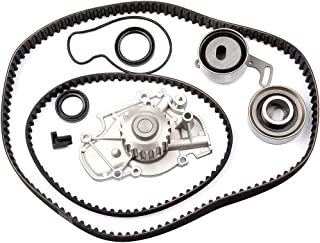 ECCPP Timing Belt Water Pump Kit F22A1 F22B2 Fits For 1990-1997 Honda Accord Odyssey Prelude Isuzu Oasis 2.2L