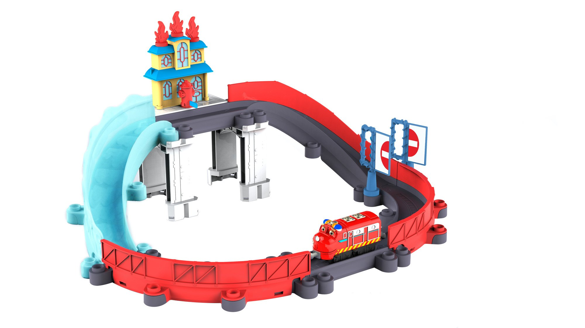 Chuggington StackTrack Blazing Rescue