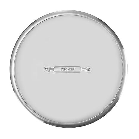 Amazon.com: techef – Mango para tapa de vidrio templado con ...