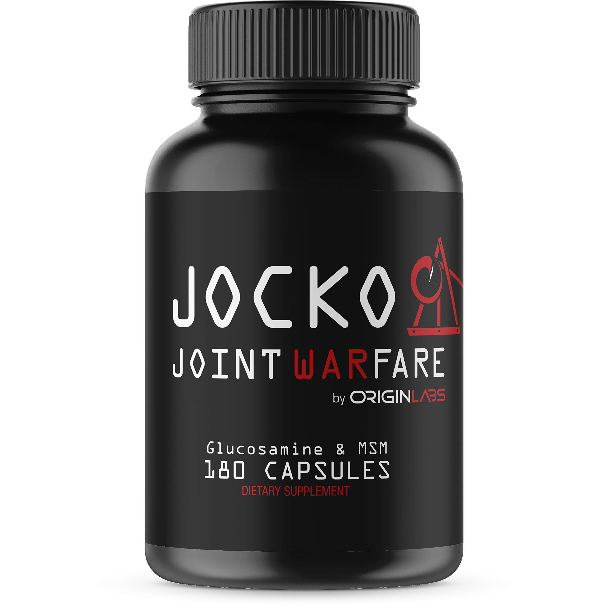 Jocko Joint Warfare - Curcumin, Glucosamine, MSM, Boswellia, Quercetin - Joint Support Supplement 180 Tablets