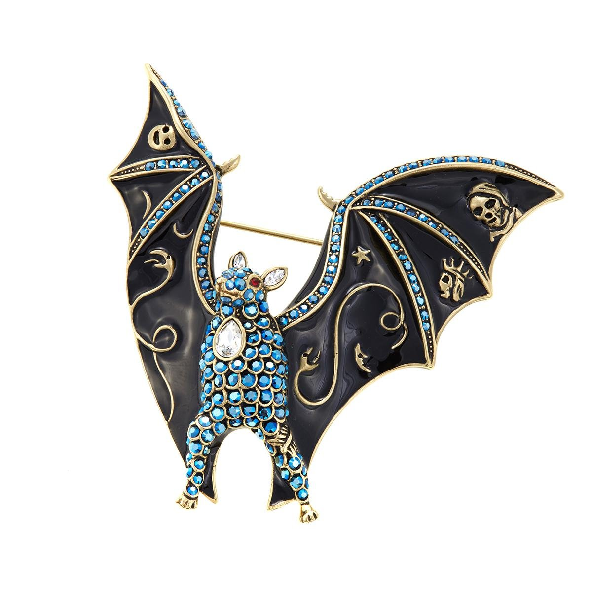 Heidi Daus Boo-tiful-Bat-Crystal-and-Enamel-Pin-SWAROVSKI-CRYSTALS-GRAB-IT Boo-tiful-Bat-Crystal-and-Enamel-Pin-SWAROVSKI-CRYSTALS-GRAB-IT