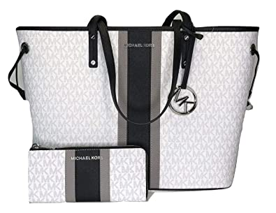 a9cf820ee MICHAEL Michael Kors Jet Set Travel Large Drawstring Tote bundled with Jet  Set Travel LG 3