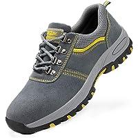DoGeek Zapato Seguridad Zapatos Trabajo con Punta