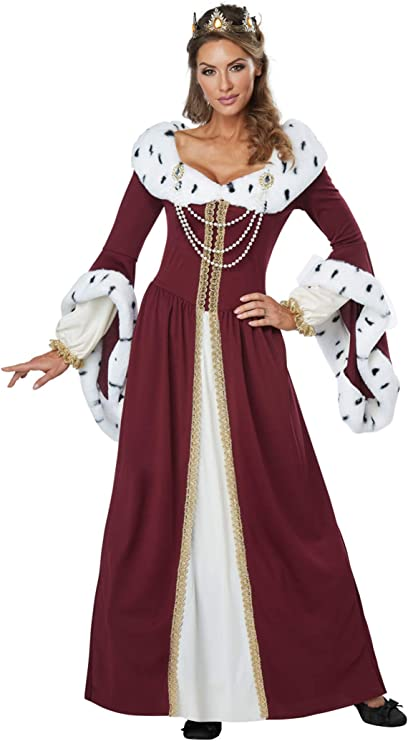 Womens Royal Storybook Queen Medieval Costume