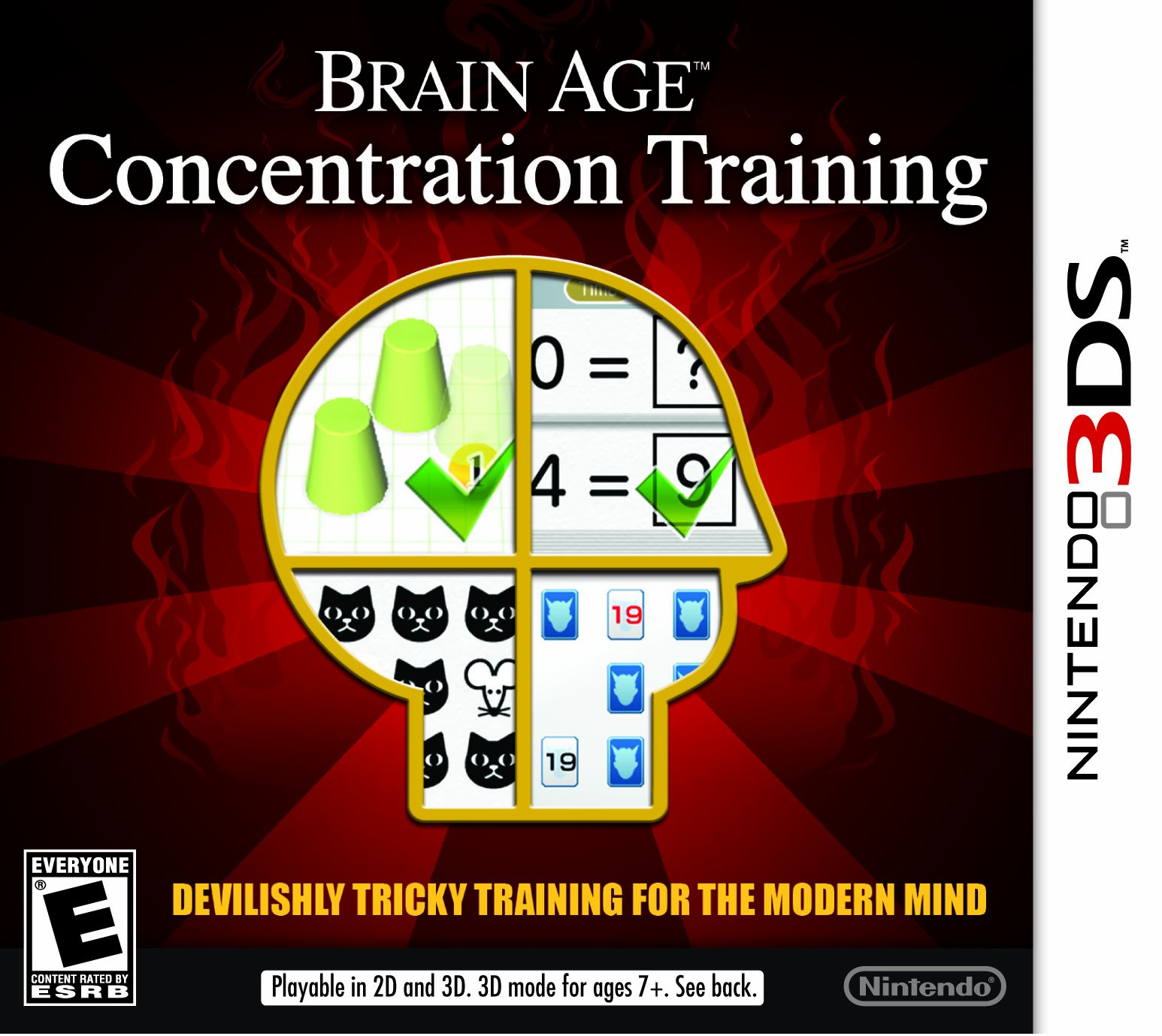 Brain Age: Concentration Training - Nintendo 3DS