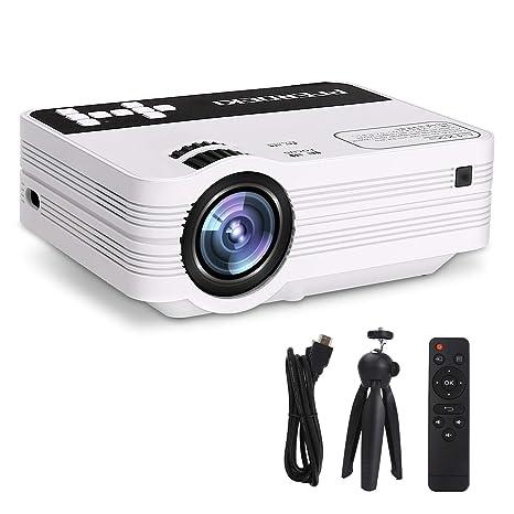 Mini proyector, Caballo EKI 2500LM Completo de HD LED Proyector de ...