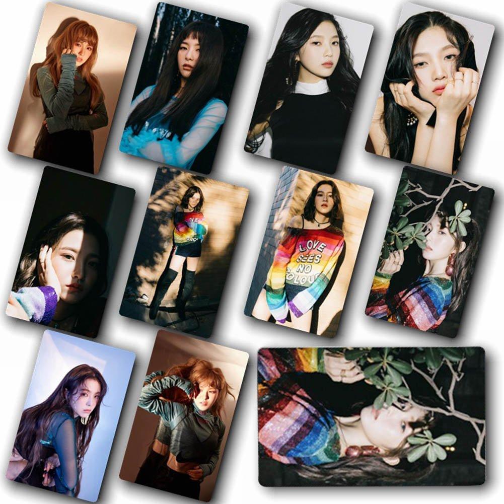Skisneostype 30pcs/Set Cute Kpop Red Velvet Lomo Cards Photo Card Poster (H01)