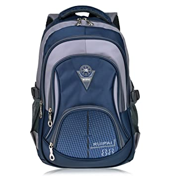 1019edee66e Vbiger School Backpack for Girls Boys Middle School Bookbag Casual Daypack   Amazon.co.uk  Luggage