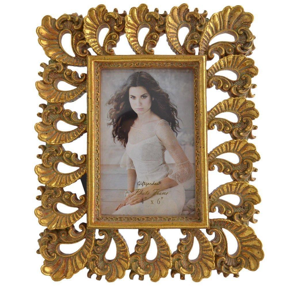 Amazon.de: Giftgarden Geschenk-Bilderrahmen, Fotorahmen, Oval ...