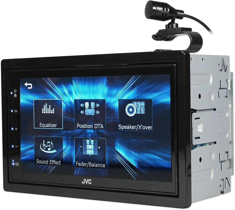JVC KW-M150BT 6.8 Car Monitor Digital Media Bluetooth Receiver w//USB+Backup Cam