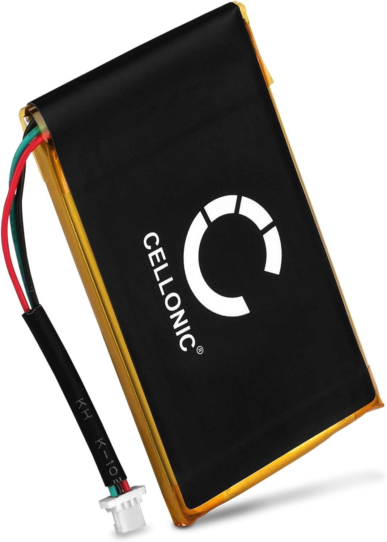 CELLONIC® Batería Premium Compatible con Garmin nüvi 200 nüvi 250 nüvi 260 nüvi 270 (1250mAh) 010-00621-10, 361-00019-11 bateria de Repuesto, Pila reemplazo, sustitución