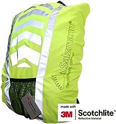 Salzmann 3M スコッチライト レインカバー(ザックカバー/リュックカバー) 反射素材、防水、防雨