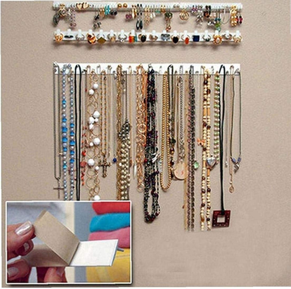 CULER Bijoux Hanging Bracket Collier Bracelet de Bijoux Support Mural pour Stockage Support daffichage Organisateur