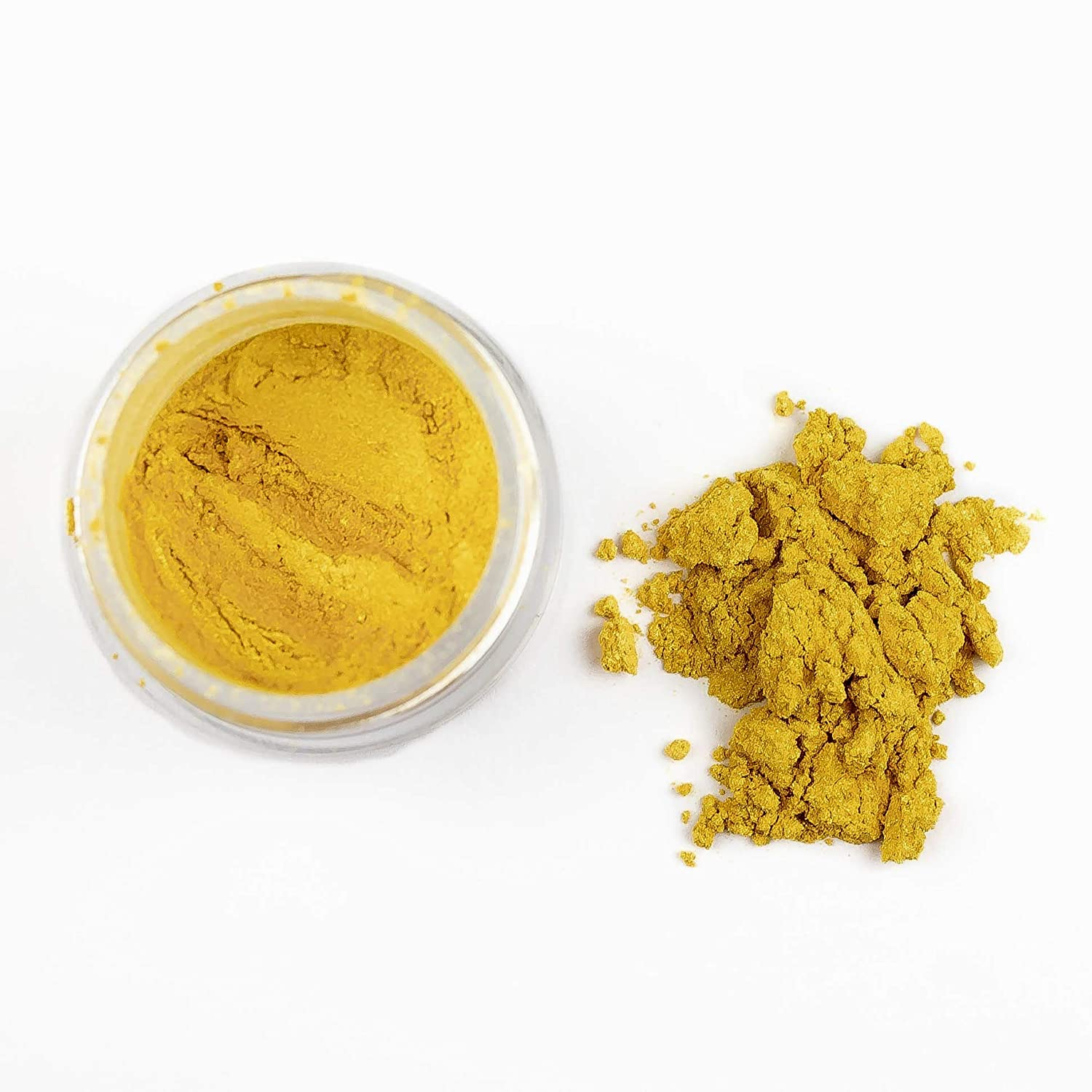 Super Gold Edible Luster Dust | Edible Powder & Dust | Food Grade Luster Dust for Decorating, Fondant, Baking | Polvo Matizador | Cakes, Vegan Paint, & Dust | Sunflower Sugar Art