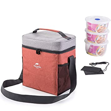 Naturehike exterior alimentos leche térmica preservación caja con aislamiento Cool Picnic bolsas para acampada playa barbacoa, red, L: Amazon.es: Deportes y ...