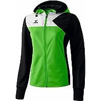 erima Jacke Premium One Trainingsjacke mit Kapuze