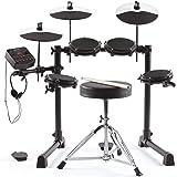Alesis Debut Kit – Kids Drum Set With 4 Mesh Electric Drum Set Pads, 120 Sounds, 60 Melodics Lessons, Drum Stool, Drum…