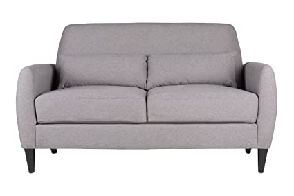Offex Home Office Furniture Allure Loveseat Grey