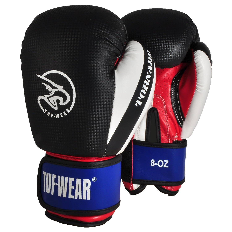 Tuf Wear Junior Kids Green//Black Training Boxing Gloves