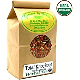 Total Knockout for Insomnia   Organic Sleep Aid   Relaxation, Restful Sleep, Bedtime, Nighttime, Good Night's Rest   Herbal Tea, Smooth Taste   Valerian, Chamomile, Passion Flower   4 oz