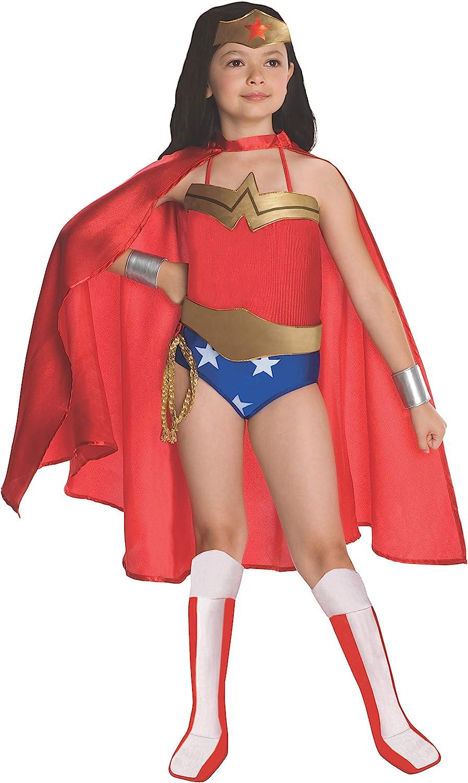 Disfraz de Wonder Woman niña - 3-4 años: Amazon.es: Juguetes y juegos