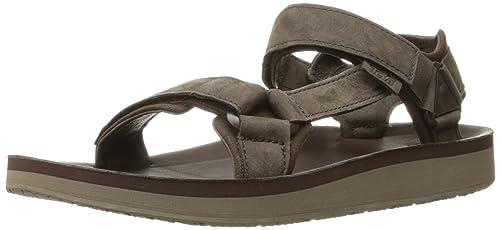 e2ec4de56b6f Teva Men s M Original Universal Premier-Leather Sandal Indigo ...