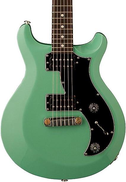 PRS misd01 _ SG S2 Mira guitarra eléctrica, color verde verde ...