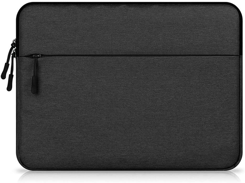 eMorevalue 11-11.6 Inch Shock Proof Laptop Sleeve Case Bag with Pockets for ASUS Chromebook, Vivobook/HP Stream, HP Chromebook/Microsoft Surface Pro 4 / Dell Inspiron 11 3000 2-in-1 (Black)