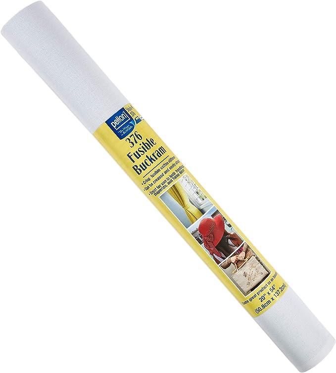 Pellon 376 Fusible Buckram Stabilizer 20inx 54in Package