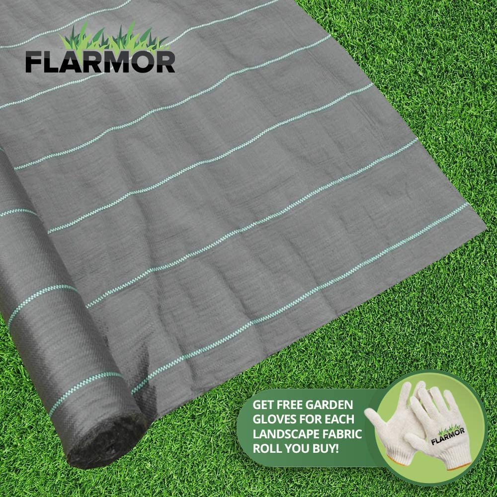 Amazon Com Geotextile Fabric Weed Barrier Landscape Fabric