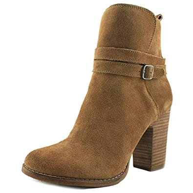 Lucky Brand Womens LATONYA Closed Toe Ankle Fashion Boots Storm Size 11.0