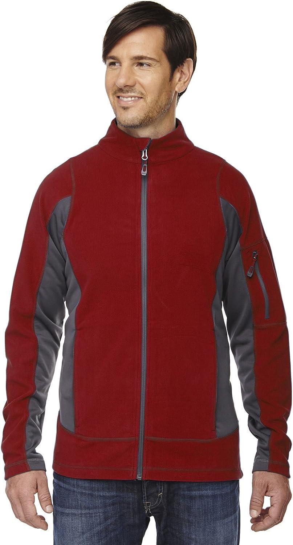 North End Generate Mens Textured Fleece Jacket