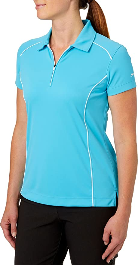 8d3a786c3 Amazon.com : Slazenger Women's Tech Golf Polo : Clothing
