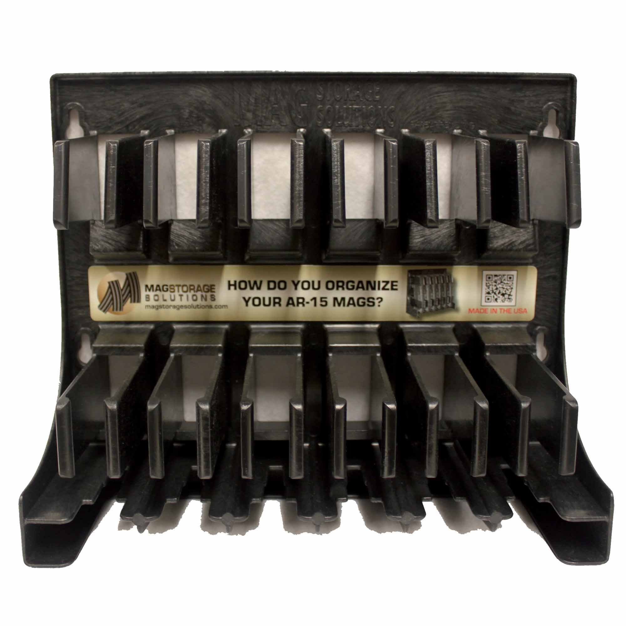 Mag Storage Solutions 5.56 .223 MagHolder Magazine Holder Storage Rack Magpul by MagStorage Solutions (Image #1)