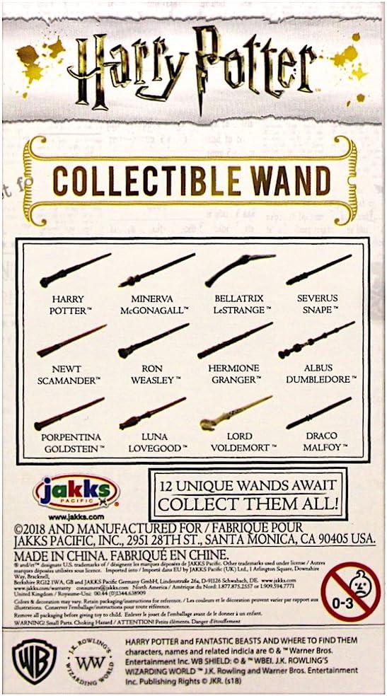 Harry Potter 4 inch Harry Potter Collectible Die-Cast Wand Jakks Pacific