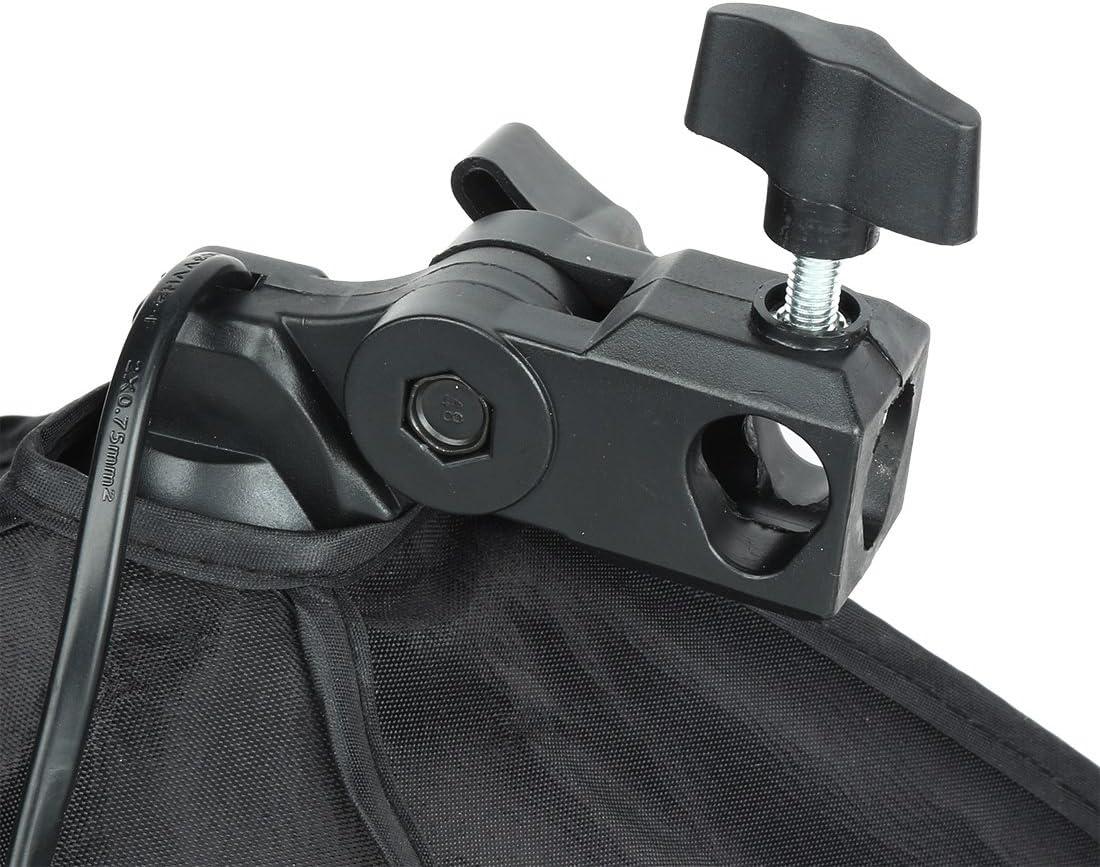 uxcell US Plug 50cmx70cm Single Flash Umbrella Softbox for Photo Video Studio
