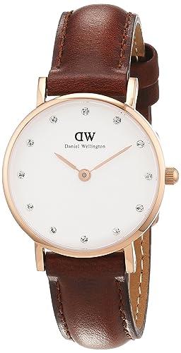 0e5451770 Image Unavailable. Image not available for. Colour: Daniel Wellington  Womens Analogue Quartz Watch with Leather Strap 0900DW