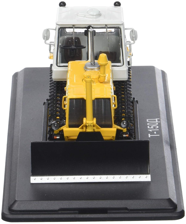 Start Scale Models ssm8015 – t-150 Caterpillar Traktor mit Pelle-Jaune-Blanc
