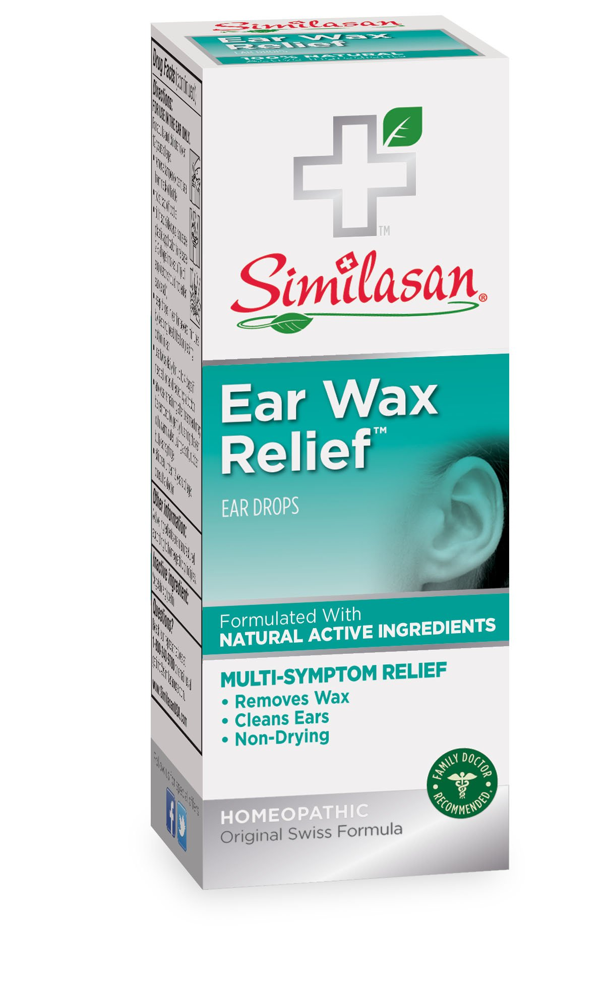 Similasan Ear Wax Removal Kit.33-Ounce Bottle and Ear Bulb Syringe