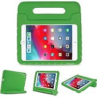 ProCase Funda Infantil iPad Mini 5 / Mini 4, Carcasa Niño Antigolpes con Asa Convertible Tapa de Soporte, Funda Bebé Ligera para iPad Mini 2019 5.ª Generación/iPad Mini 4 2015 -Verde