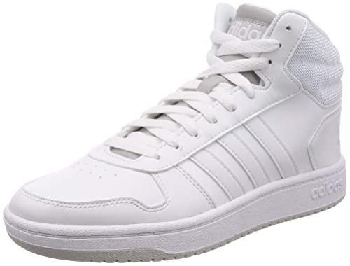 adidas Hoops 2.0 Mid, Chaussures de Basketball Homme