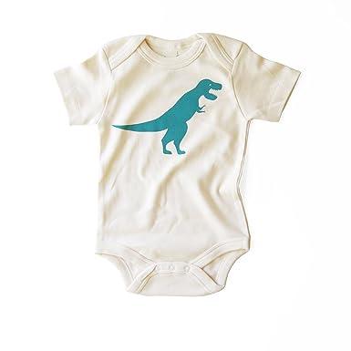5208c8dc50e4 Amazon.com  eleventy-five Dinos! T-Rex Organic Cotton Unisex Baby ...