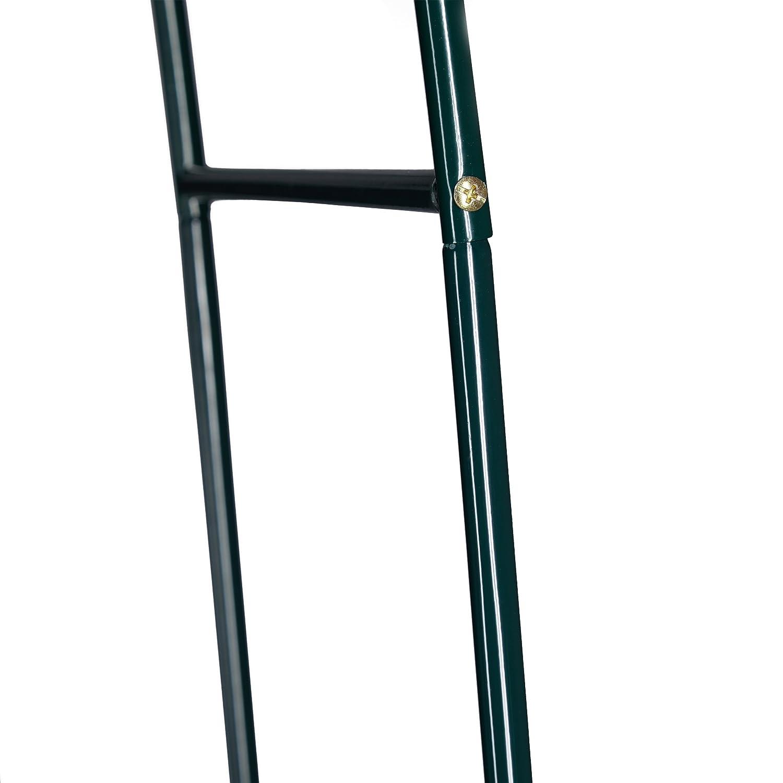 2x Torbogen Rosenbogen Metall witterungsbest/ändig dunkelgr/ün HBT: 240 x 140 x 38 cm Rankhilfe Kletterpflanzen Rosen